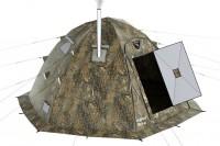 Прокат зимней 4 местной палатки Берег с печкой