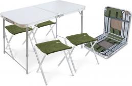 Стол складной туристический с седушками напрокат