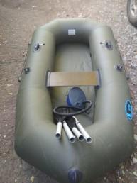 Прокат резиновой лодки 1-местной